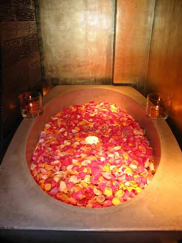 Rose Petal Bathtub